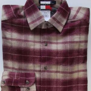 NWT Vintage Tommy Hilfiger Flannel Shirt Size S